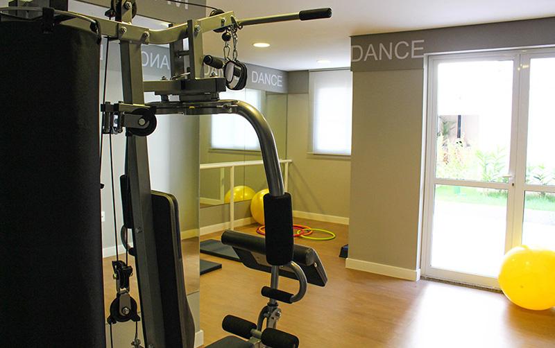 Jabaquara, Apartamento Padrão-Fitness center e espaço dança.