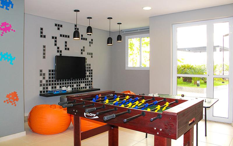 Jabaquara, Apartamento Padrão-Salão de jogos teen.