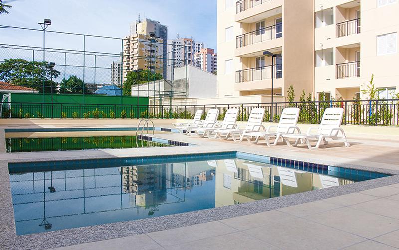 Jabaquara, Apartamento Padrão-Piscina adulto e infantil, deck molhado e solarium.