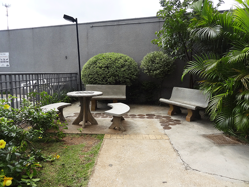Sacomã, Apartamento Padrão-Praça.