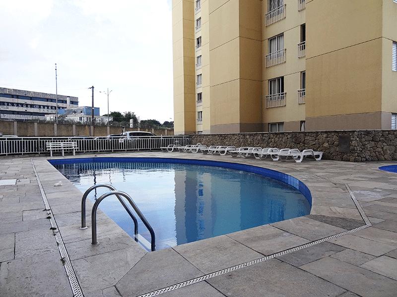 Sacomã, Apartamento Padrão-Piscina Adulto