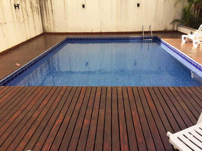 Jabaquara, Apartamento Padrão-Piscina com deck