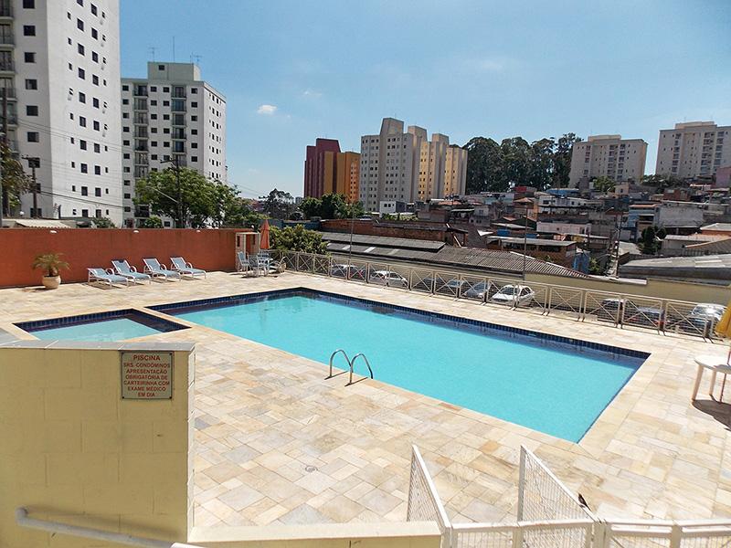 Sacomã, Apartamento Padrão-Piscina adulto e infantil