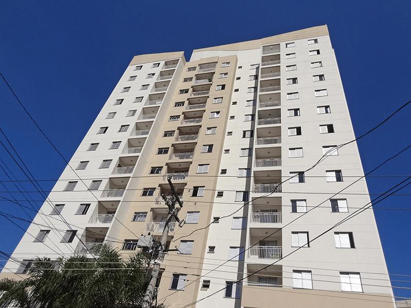 Sacomã, Apartamento Padrão-Fachada.