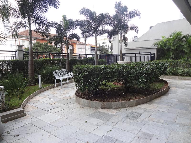 Ipiranga, Apartamento Padrão-Área ajardinadas com banco