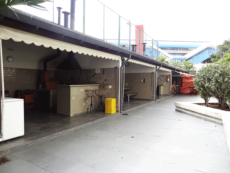Ipiranga, Apartamento Padrão-Espaço Gourmet com churrasqueira