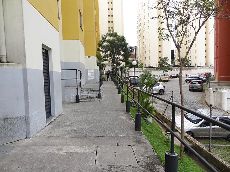 Sacomã, Apartamento Padrão-Área externa