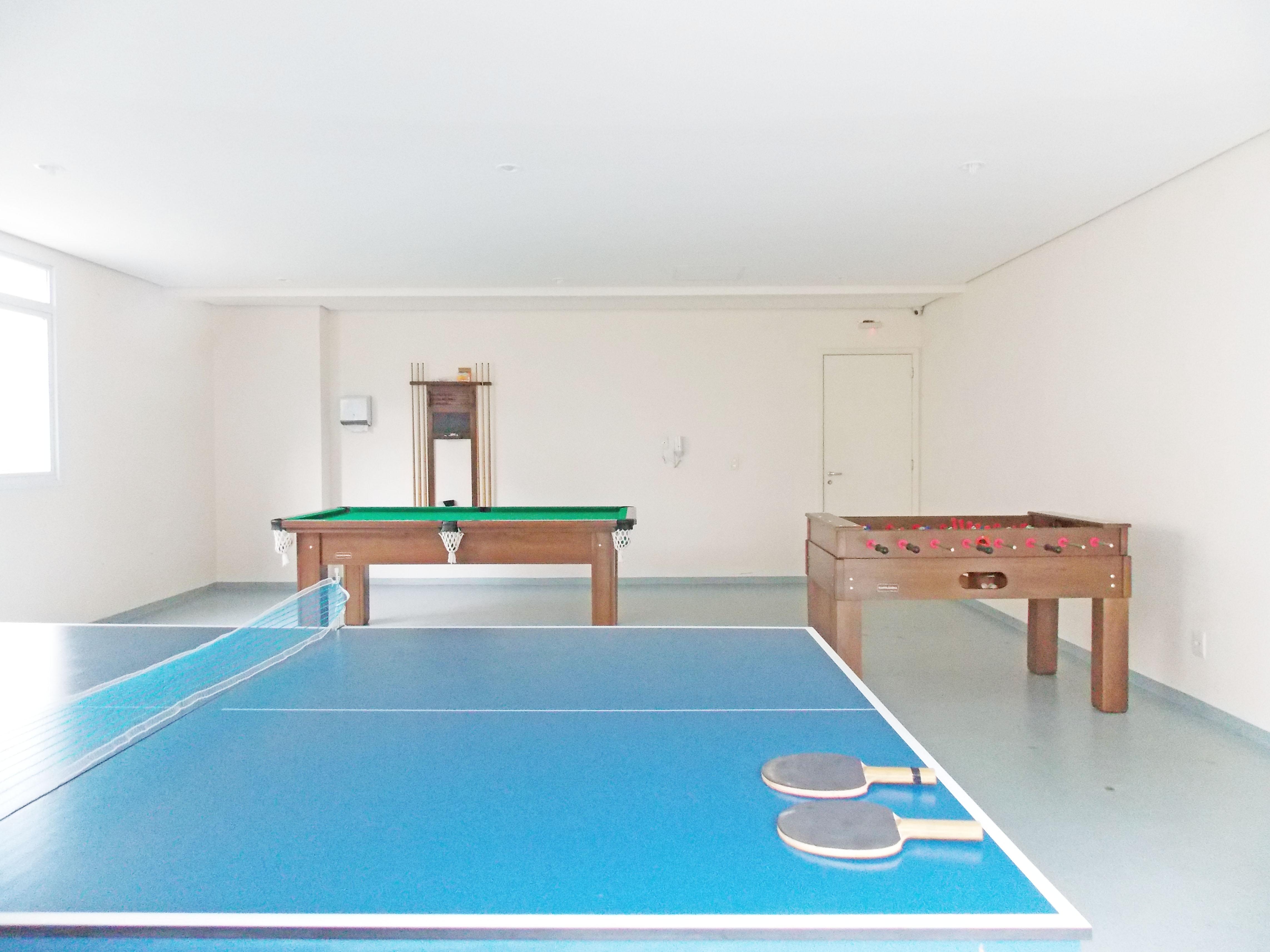 Sacomã, Apartamento Padrão-Sala de jogos.