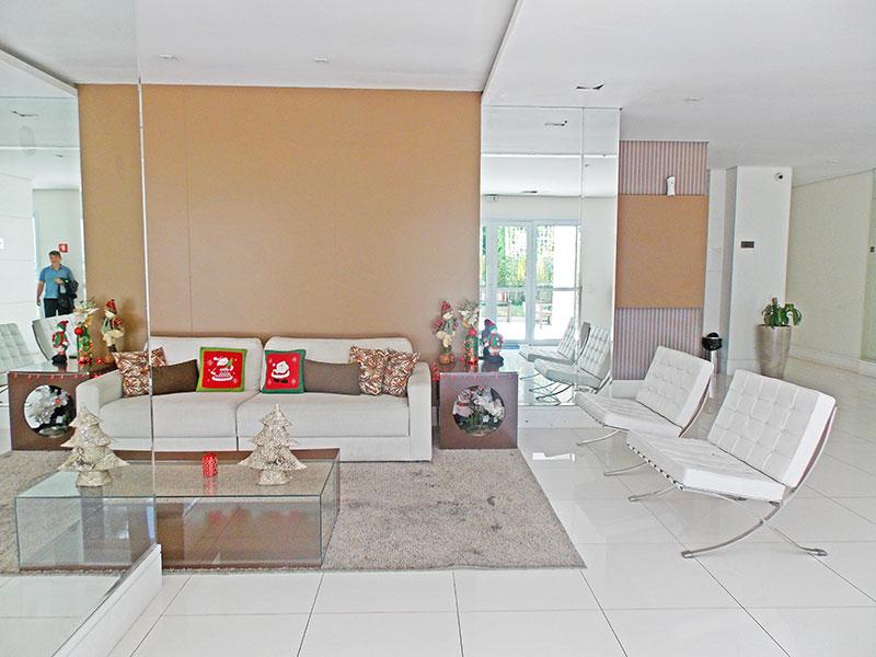 Jabaquara, Apartamento Garden-Hall de entrada.