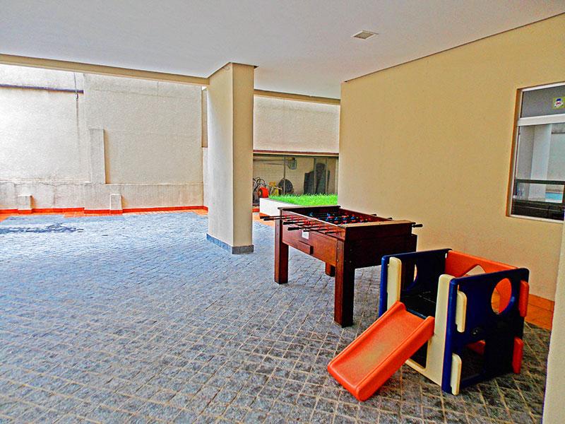 Jabaquara, Cobertura Duplex-Área de jogos.