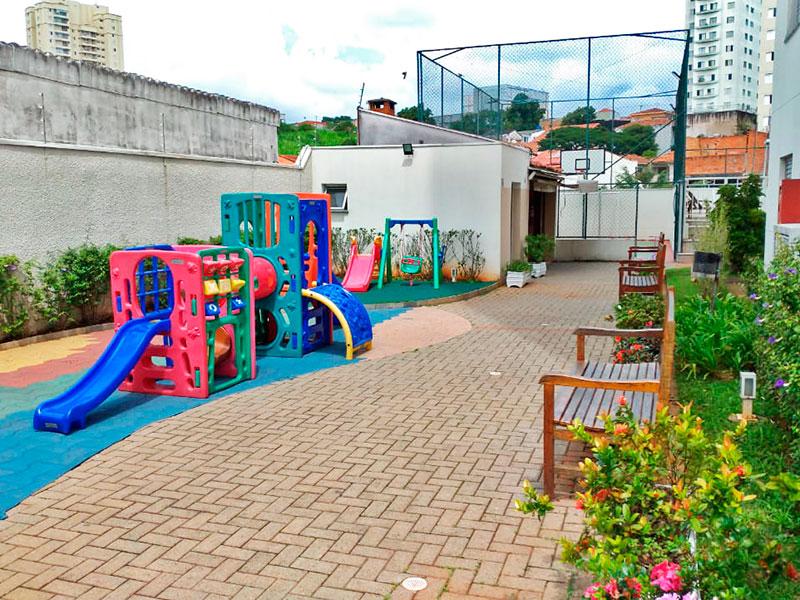 Sacomã, Apartamento Padrão-Playground.