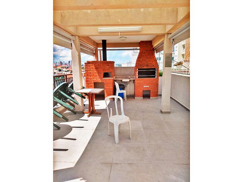 Jabaquara, Apartamento Garden-Área gourmet.