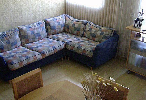 Sacomã, Cobertura Duplex-Sala quadrada com piso laminado