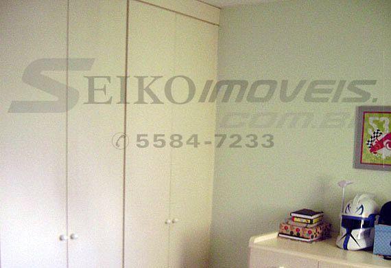 Sacomã, Cobertura Duplex-1ª suíte com piso laminado e armários planejados