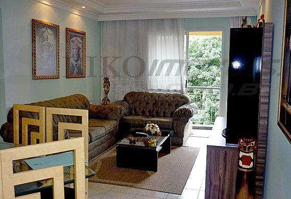 Sacomã, Apartamento Padrão-Sala retangular com sanca e iluminação indireta