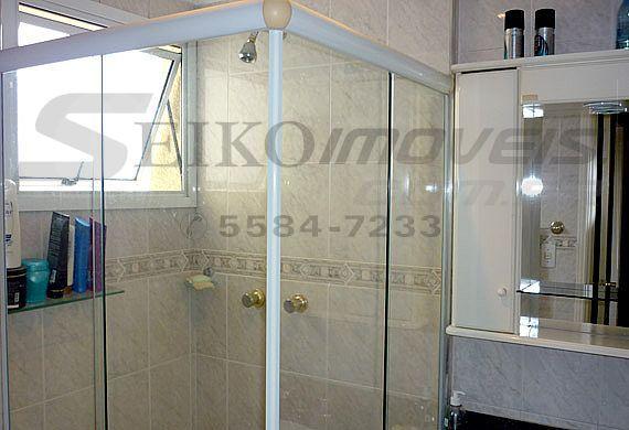 Sacomã, Apartamento Padrão-Banheiro da suíte com box de vidro
