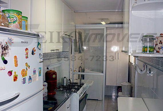 Jabaquara, Apartamento Padrão-Cozinha reformada com armários planejados