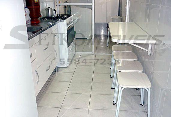 Jabaquara, Apartamento Padrão-Cozinha com pia de granito