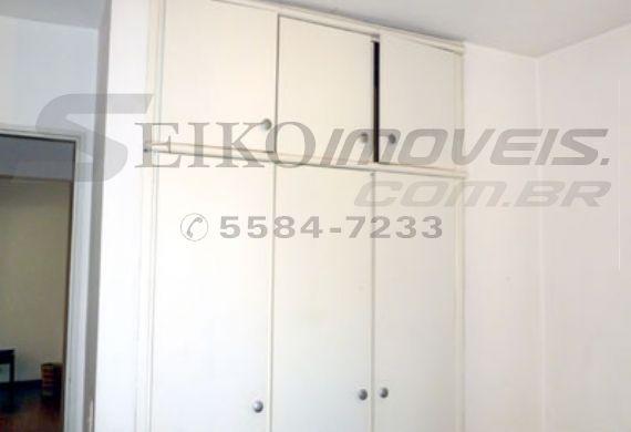 Jabaquara, Apartamento Padrão-Armários do dormitório