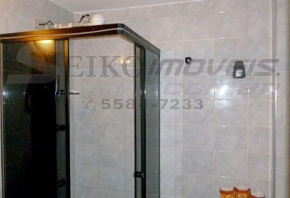 Jabaquara, Apartamento Padrão-Banheiro social com box de vidro