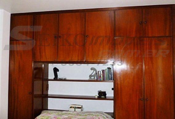 Jabaquara, Cobertura Duplex-Armários do dormitório