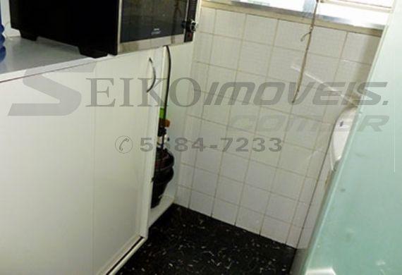Jabaquara, Cobertura Duplex-Área de serviço com armários