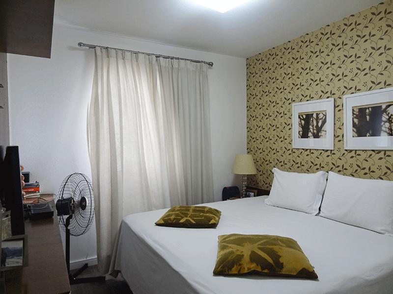 Ipiranga, Apartamento Padrão-1º suíte com piso de vinílico e closet.