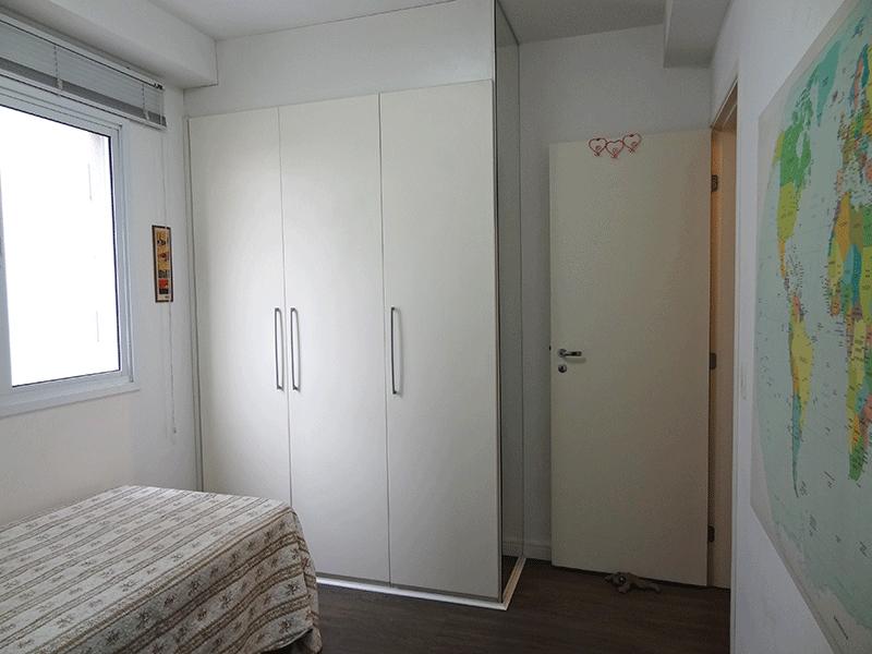Ipiranga, Apartamento Padrão-3º suíte com piso de vinílico e armários planejados.