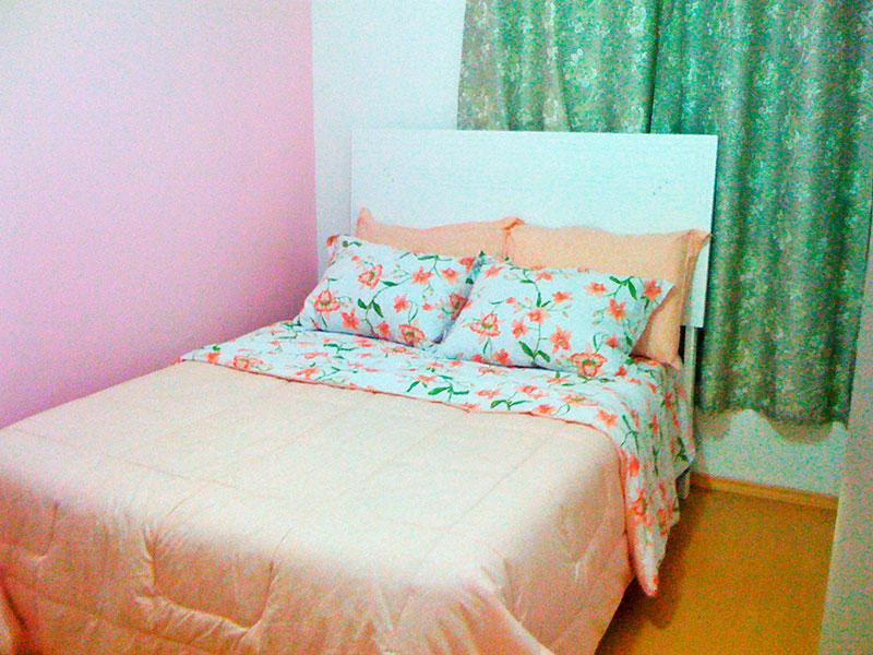 Jabaquara, Apartamento Padrão-1º quarto com piso de laminado.