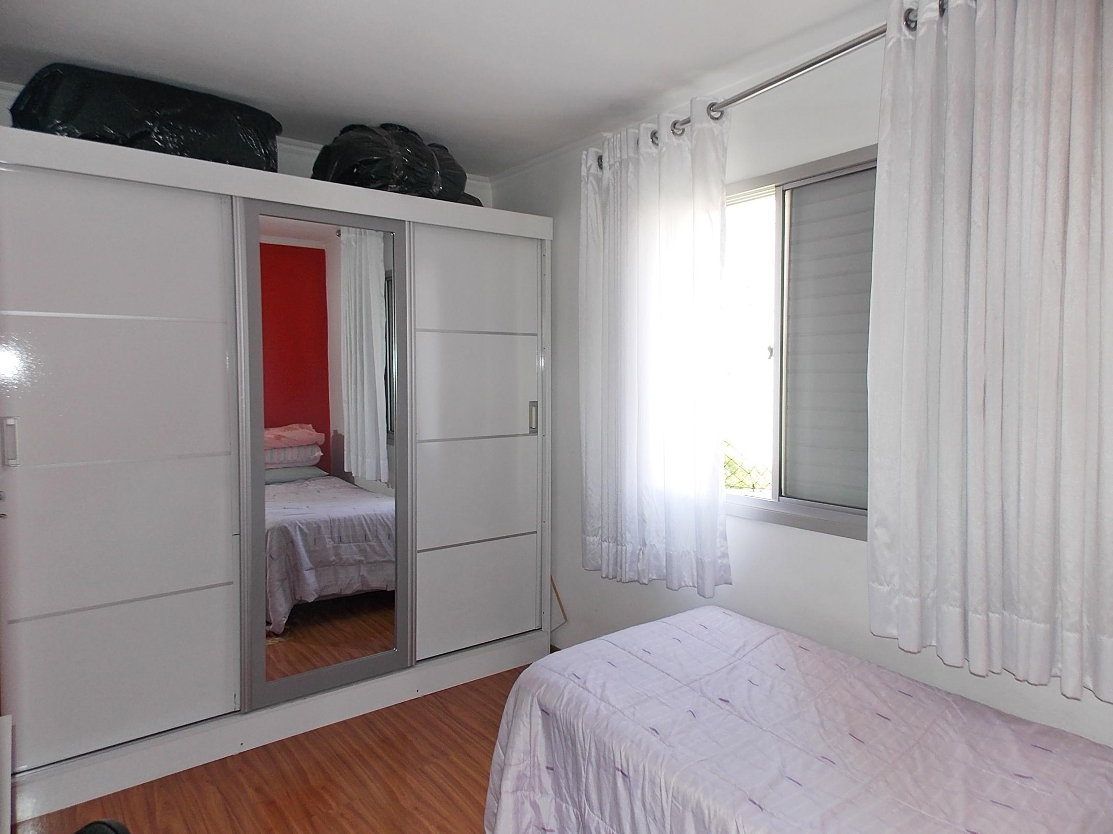 Jabaquara, Apartamento Padrão-Segundo dormitório com piso laminado e teto com moldura de gesso