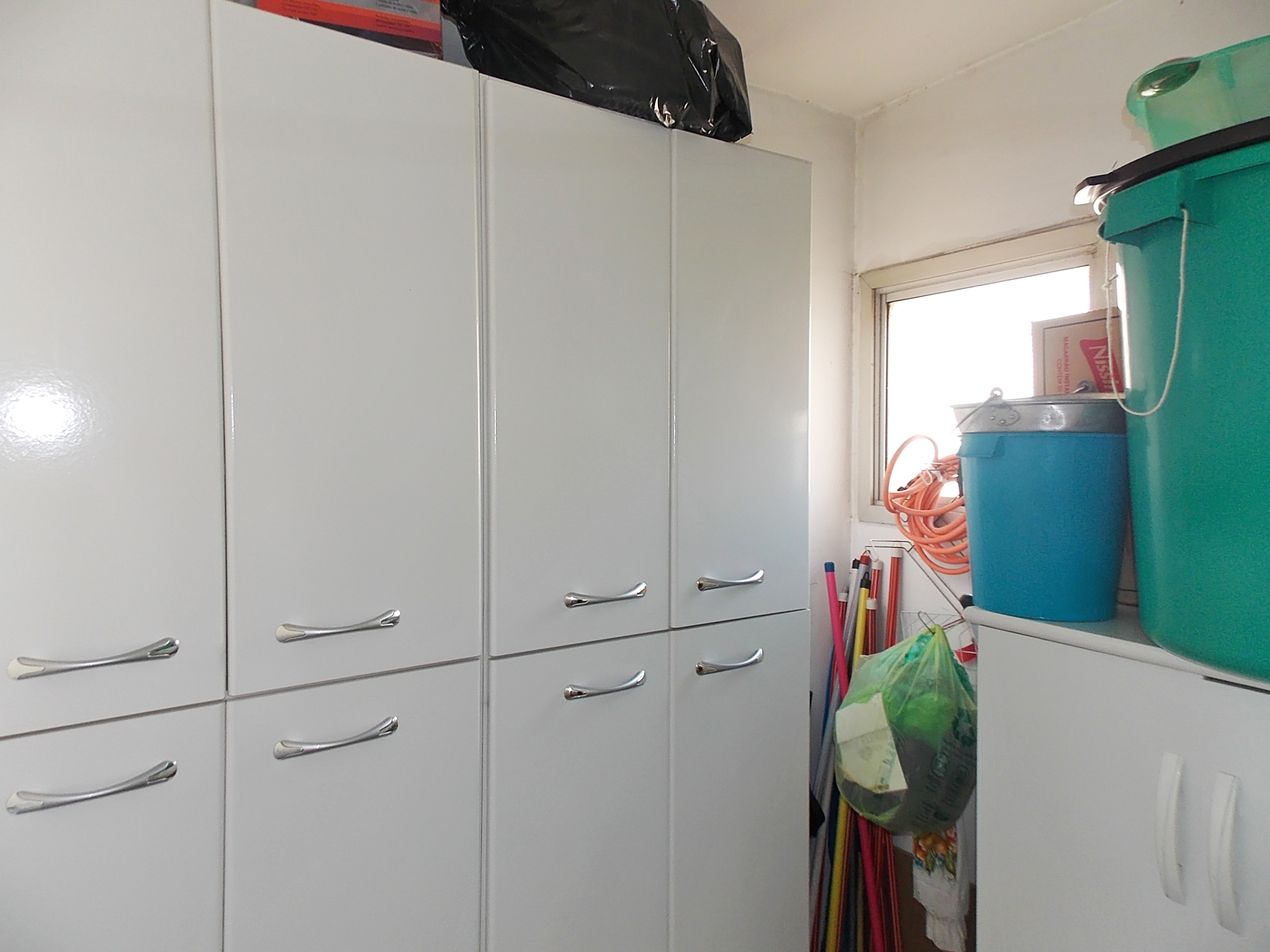 Jabaquara, Apartamento Padrão-Área de serviço com aquecedor de passagem, piso de cerâmica e armários