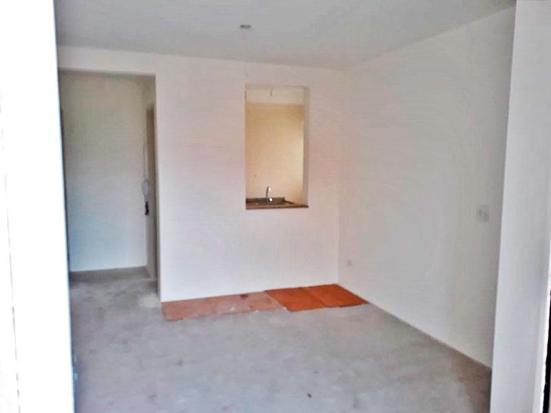 Jabaquara, Apartamento Padrão-Sala em L no contrapiso com acesso à varanda.