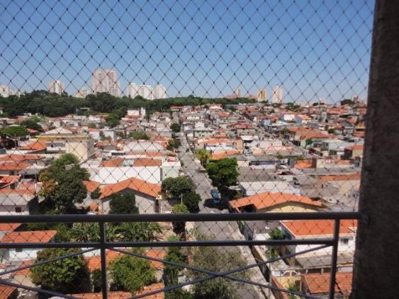 Sacomã, Apartamento Padrão-Varanda com tela de proteção.