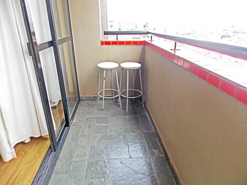 Jabaquara, Apartamento Padrão-Varanda com piso de ardosia.