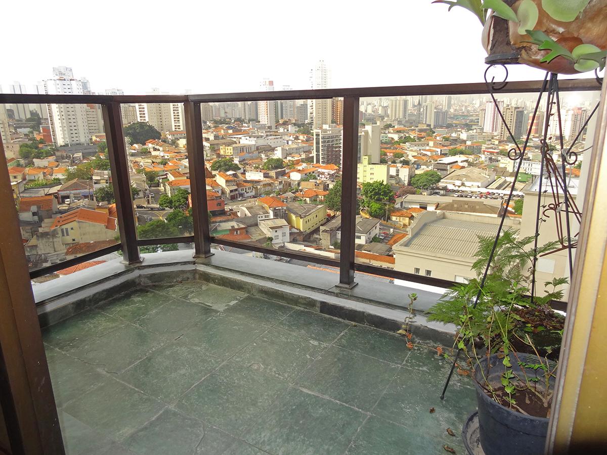 Ipiranga, Apartamento Padrão-Sacada com piso de ardósia.