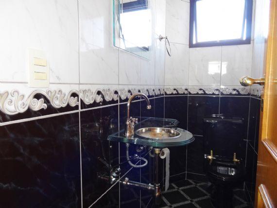 Ipiranga, Apartamento Padrão-Lavabo com pia de vidro.