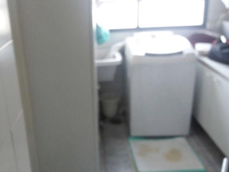 Jabaquara, Apartamento Padrão-Área de serviço com piso de cerâmica e aquecedor de passagem. Área de serviço com piso de cerâmica e aquecedor de passagem.