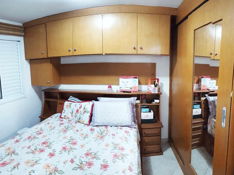 Jabaquara, Apartamento Padrão-Suíte com piso de cerâmica e armários planejados