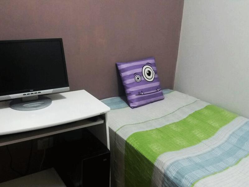 Ipiranga, Apartamento Padrão-Segundo dormitório.