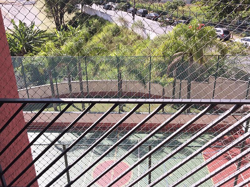Jabaquara, Apartamento Padrão-Varanda com tela de proteção.