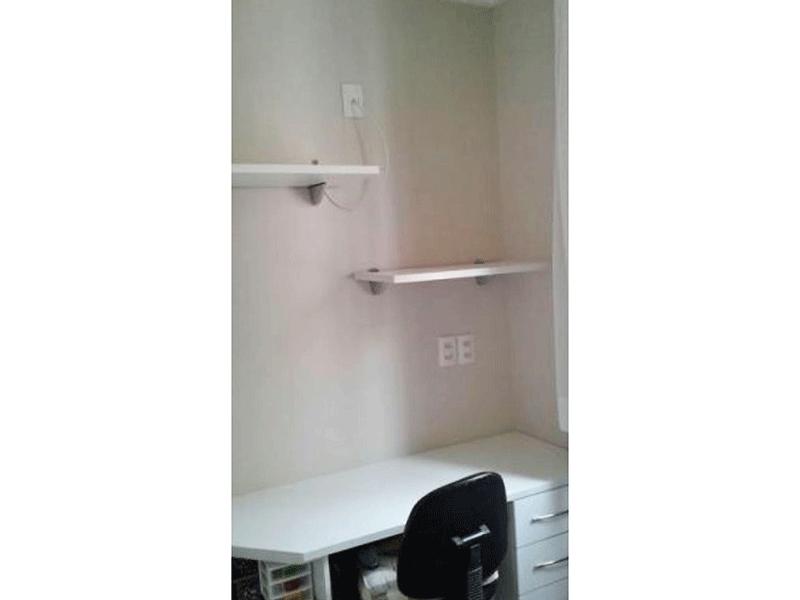 Jabaquara, Apartamento Padrão-2º dormitório com moldura de gesso.