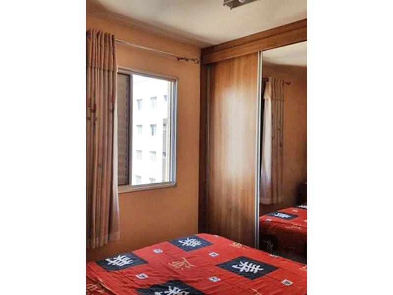 Sacomã, Apartamento Padrão-1º Dormitório com armários planejados.