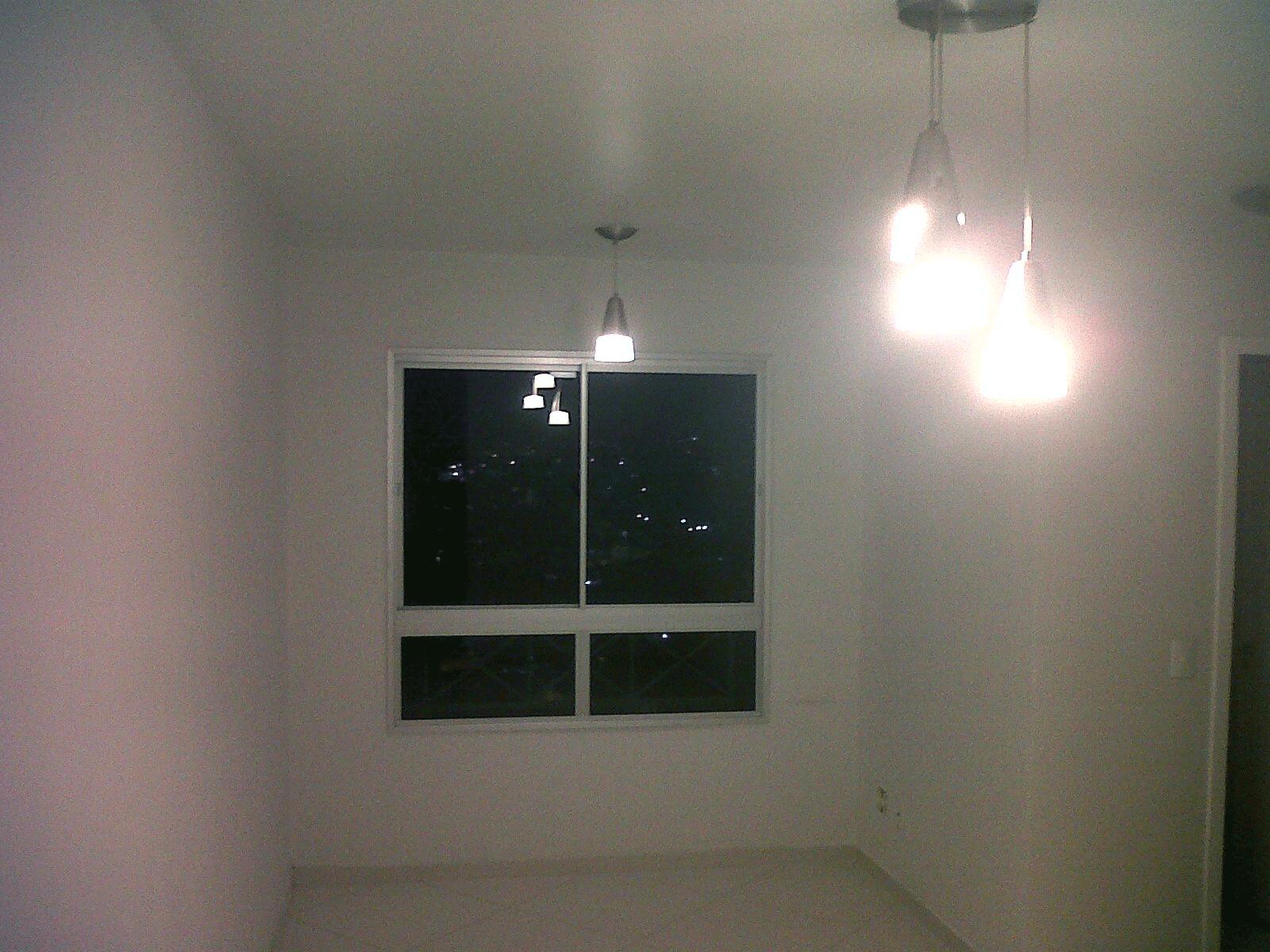 Sacomã, Apartamento Padrão - Sala com piso de porcelanato.