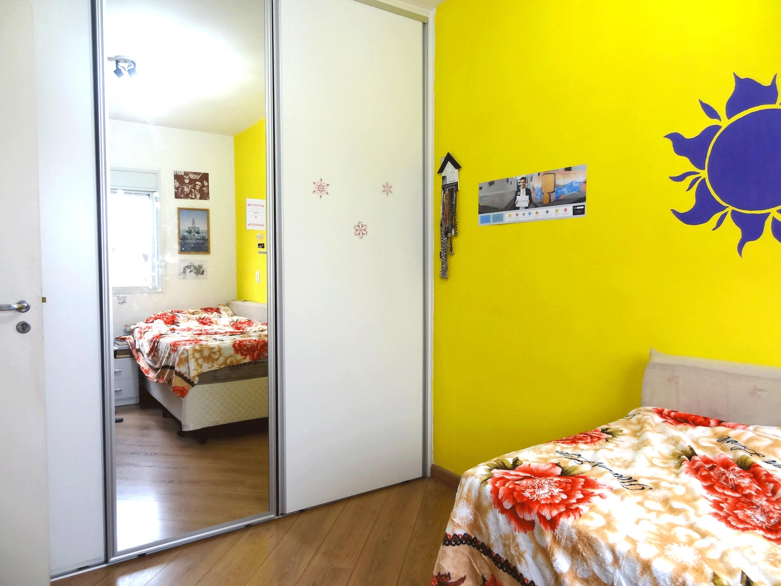 Jabaquara, Apartamento Garden-2º dormitório com piso laminado e armários planejados.