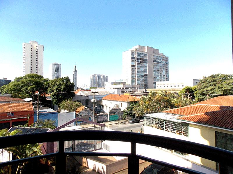 Ipiranga, Apartamento Padrão-Sacada com piso de granito e teto de madeira (ás 4 sacadas).