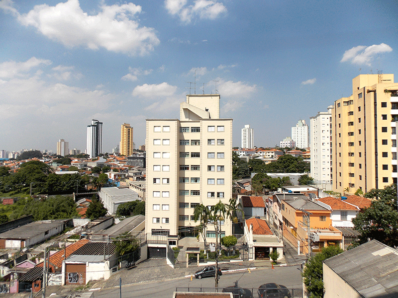 Sacomã, Apartamento Padrão-Vista da sacada.