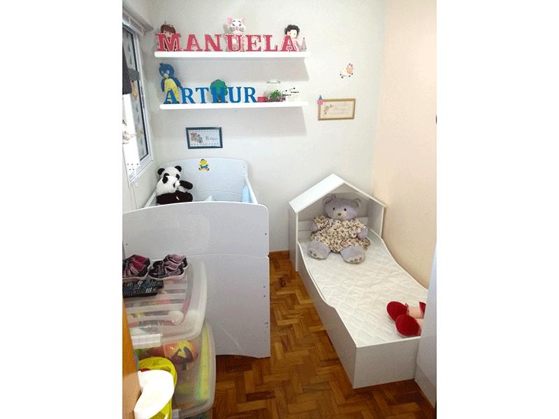 Ipiranga, Apartamento Padrão-2º dormitório com piso taco de madeira.