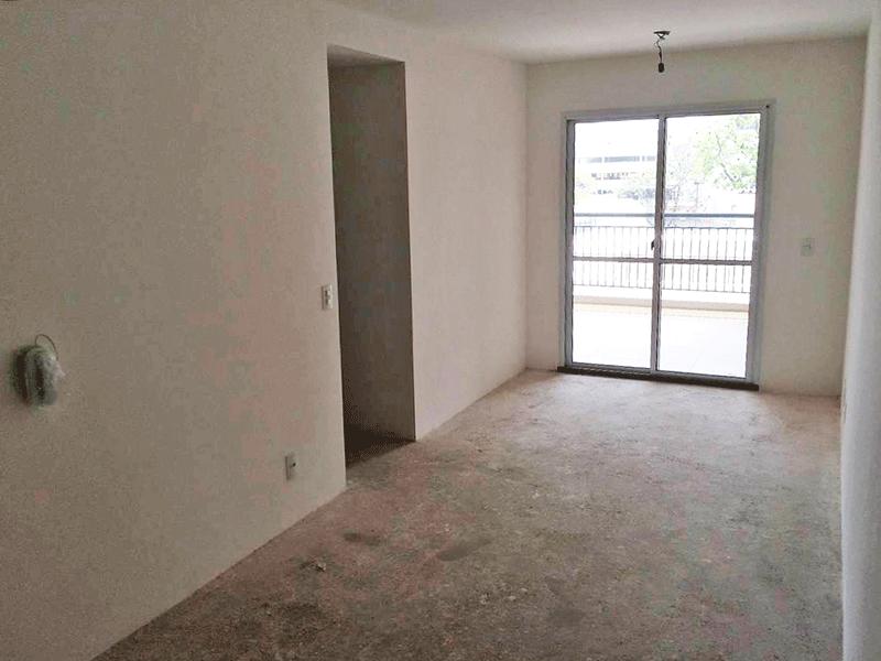 Ipiranga, Apartamento Padrão-Sala com dois ambientes, no contra piso e acesso à varanda.
