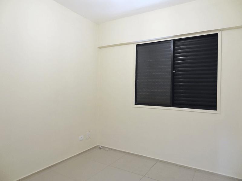 Jabaquara, Cobertura Duplex-2º dormitório com piso de porcelanato.
