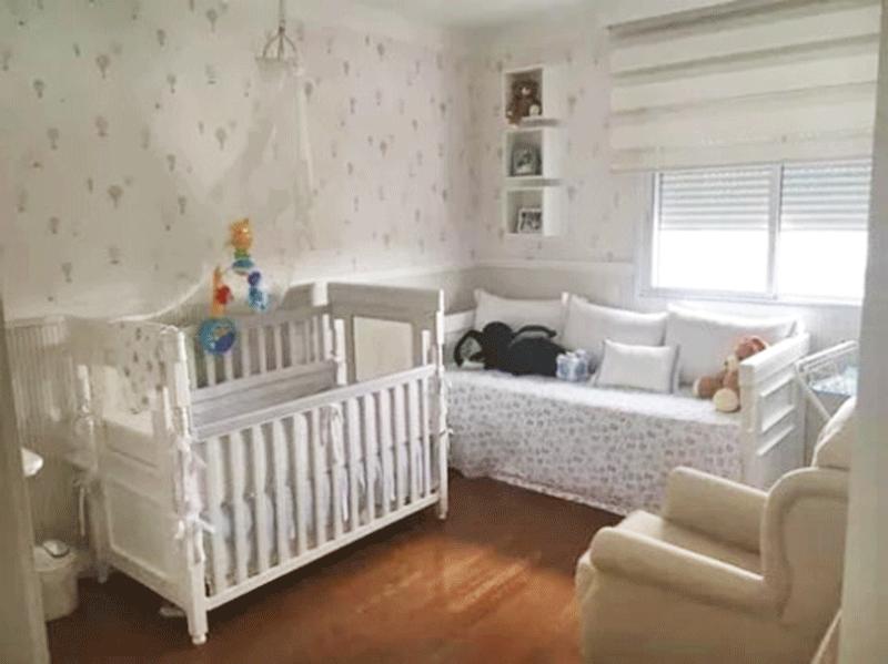 Ipiranga, Cobertura Duplex-3º suíte com piso de madeira, ar condicionado, papel de parede e armários planejados.